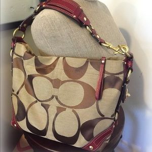 Carly COACH Hobo Bag
